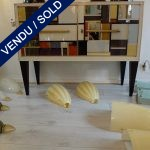 Buffet in mirror - SOLD