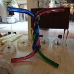 Ref : MT007 - Pied en verre de Murano