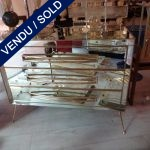 Ref : M227 -  - Mirror chest with 3 drawers - SOLD