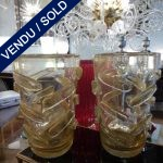 Ref : V294  - Paire Murano - VENDU
