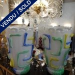 Ref : V295  - Paire Murano - VENDU