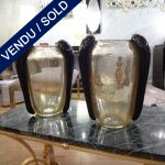 Ref : V297  - Pair of signed Murano - SOLD