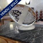 Ref : ADS962  - Sculpture Murano signée - VENDU