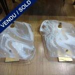 Ref : LA232  - Murano - Suite de 4 appliques - VENDU