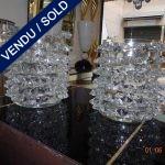 Ref : V298  - 2 Vases Murano - VENDU