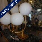 Ref : LL329  - Paire - 4 lumières - VENDU