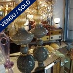 Paire de lampes Murano - SOLD