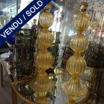 Ref : LL983  - Set of lamps Murano - SOLD