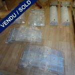 Ref : LA974  - Suite de 4 - Verre de Murano - VENDU