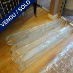 Ref : LA971 - Suite de 4 appliques de Murano - VENDU
