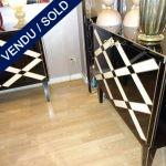 Paire de buffetsTout miroir - VENDU