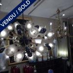 Murano 34 lampes - VENDU