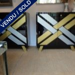 Ref : M958  - Buffet whole in mirror - SOLD