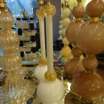 Ref : LL141B - Set of Murano lamps