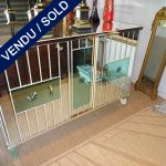 Ref : M971 - Buffet whole in mirror - SOLD