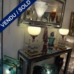 Mirror with its console - SOLD
