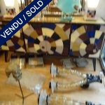 Buffet whole in mirror - SOLD