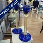Ref AD21  - Set of candlesticks Murano - SOLD