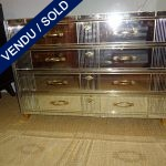 Ref : M200 - Whole in mirror - SOLD