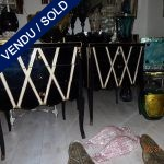 Set of commodes whole in mirror - SOLD