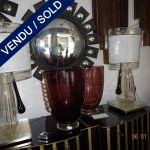 Set of Murano lamps Sold - VENDU