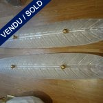 Set of 4 Murano sconces - SOLD