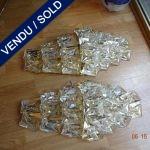 Paire d' appliques Murano - VENDU