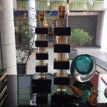 Ref : LL336 - Murano noir et doré