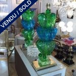 Ref :LL339  - Pair of Murano Lamps - SOLD