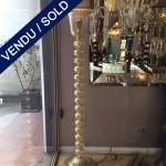 Ref :LL340 - Floor lamp glass of Murano - SOLD