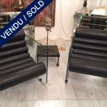 "Ref : MC760 - Pair of armchairs ""Fabio Lenci"" - SOLD"