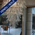 "Large chandelier signed by ""SALVIATI"" - SOLD"