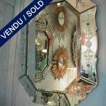 Graven mirror, 1940s - SOLD