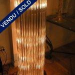 Set of floor lamps in glass of Murano - SOLD