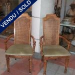 A set of armchair - SOLD