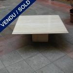 Coffee table in marble - SOLD