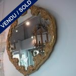 Miroir entourage bois doré - VENDU