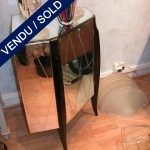 Tiny angular commode in mirrors - SOLD