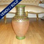 "Vase signé "" AMR VIDEA 1182 "" Peint a la main Italie - VENDU"