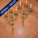 Ref : LA7 - Set of sconces style Louis XV - SOLD