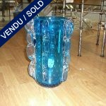 Vase forme BAROVIER verre soufflé bullé Murano - VENDU