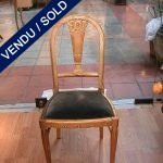 "Chairs ""Paul FOLLOT"" 1920s - SOLD"