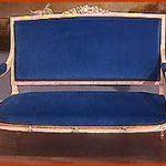 Ref : MC005 - canapé style Louis XVI époque XIX