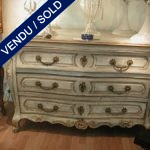 Commode XVIIIth in painted wood - SOLD