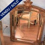 Mirror XIXth century - SOLD