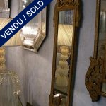 Mirror with frame in gilded wood. Beginning of XXth - SOLD