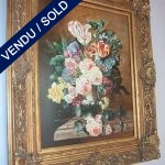 "Ref : ADT004 - Bunch of flowers signed by ""VANYL"" - SOLD"