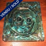 Ref AD8  - Plate in glass of Murano - SOLD