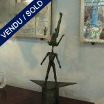 Sculpture in bronze, signed Igor USTINOV - SOLD