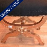 Stool in gilded wood. End of XIXth century - SOLD